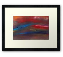 Abstract - Guash - Savana Framed Print