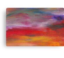 Abstract - Guash & Acrylic - Pleasant Dreams Canvas Print