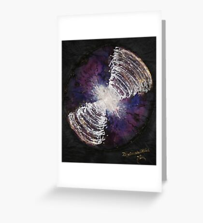 COSMIC ELECTRIC connection   Greeting Card