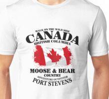 Maple Leaf - Canadian Flag - Vintage Look Unisex T-Shirt