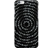 Snowflakes spin iPhone Case/Skin