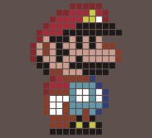 Mario bros pixel by Xanxus