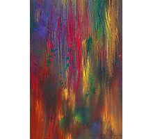 Abstract - Tempera - Night Fall Photographic Print