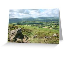 Captain Cook's Monument, North Yorkshire Greeting Card