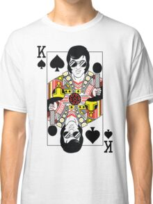 Elvis Presley Vegas Style Playing Card Classic T-Shirt