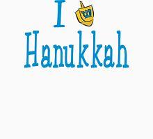 I Love Hanukkah Hanukkah T-Shirt Womens Fitted T-Shirt
