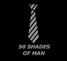 50 Shades Of Man by kungfujack1
