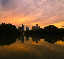 Sunset at Piedmont Park by thatche2