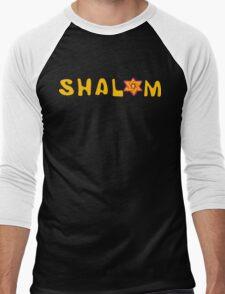 Shalom T-Shirt Men's Baseball ¾ T-Shirt