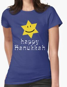 Happy Hanukkah T-Shirt Womens Fitted T-Shirt