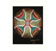 Four of cups crossroads  Art Print