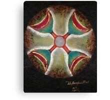Four of cups crossroads  Canvas Print