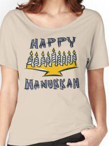 Happy Hanukkah T-Shirt Women's Relaxed Fit T-Shirt