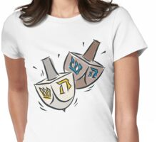 Dreidel Dreidel T-Shirt Womens Fitted T-Shirt
