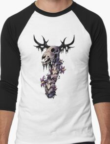 Deer NightSHADE Men's Baseball ¾ T-Shirt