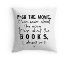 Always the Books Throw Pillow
