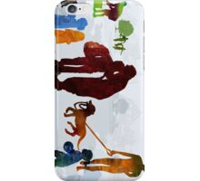 Children and Parents iPhone Case/Skin