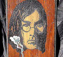 John Lennon by rod mckenzie