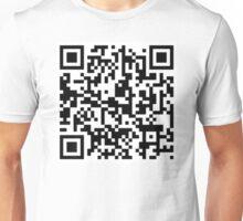 Rickroll QR Code Unisex T-Shirt