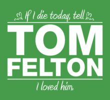 "Tom Felton - ""If I Die"" Series (White) by huckblade"