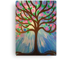 WHIMSICAL Fantasy Art Painting - Tree of Light Canvas Print