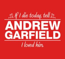 "Andrew Garfield - ""If I Die"" Series (White) by huckblade"
