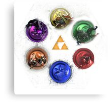 Legend Of Zelda Ocarina Of Time Bosses Metal Print
