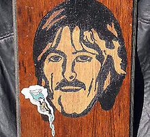 George Harrison by rod mckenzie