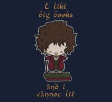 I Like Big Books - Bilbo Kids Tee