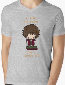 I Like Big Books - Bilbo Mens V-Neck T-Shirt