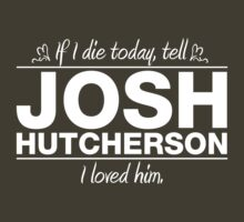 "Josh Hutcherson - ""If I Die"" Series (White) by huckblade"