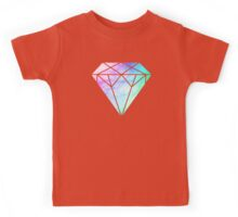 Rainbow Galaxy Diamond Kids Tee