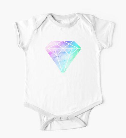Rainbow Galaxy Diamond One Piece - Short Sleeve
