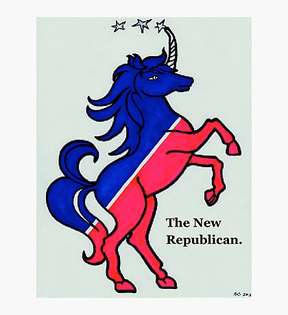 The New Republican Photographic Print