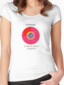 Gaydar: If You've Got It Flaunt It Women's Fitted Scoop T-Shirt