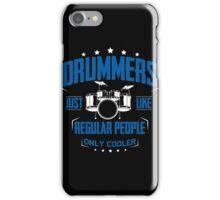 DRUMMER iPhone Case/Skin