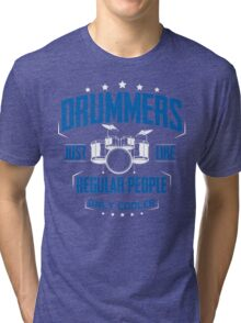 DRUMMER Tri-blend T-Shirt