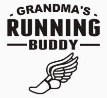 Grandma's Running Buddy Kids Tee