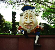 Humpty Dumpty - 'Story Book Garden', Hunter Valley Gardens by Marilyn Harris