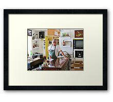 Howard Framed Print