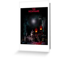 Lamp Nightmare Greeting Card