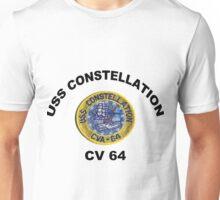 USS Constellation (CV-64) Unisex T-Shirt