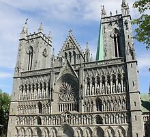 Nidaros Cathedral in Trondheim Norway by boydhowell