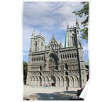 Nidaros Cathedral in Trondheim Norway Poster