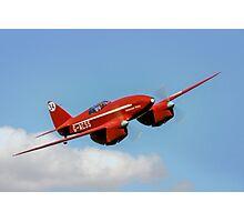 De Havilland DH88 Comet Racer G-ACSS Photographic Print