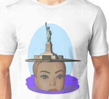head of Liberty Unisex T-Shirt