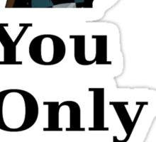 Jason Todd Inspired - You Only Live Twice shirt Sticker