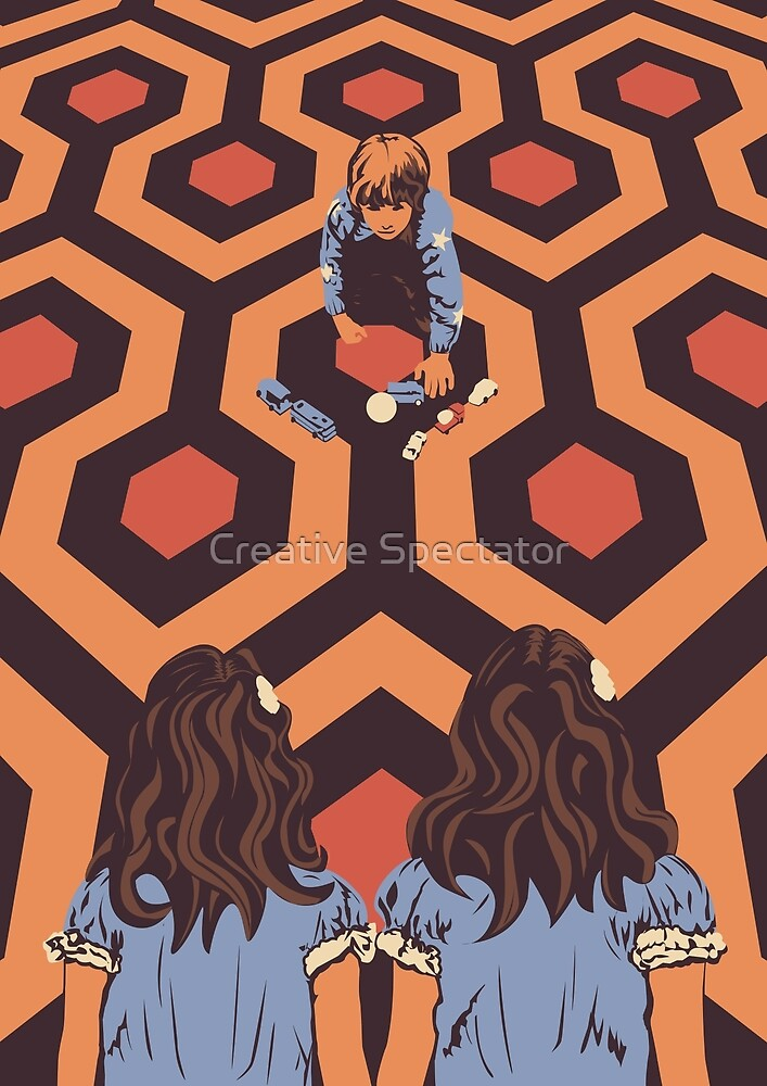 The Shining Room 237 Danny Torrance  by Creative Spectator