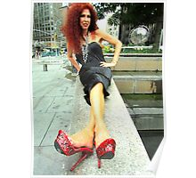 Glamorous lady! Poster