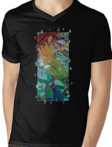 Swimming with Butterflies Mens V-Neck T-Shirt